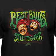 Cheech & Chong Up In Smoke Best Buds Stick Together Men's Movie T-Shirt