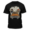 Cheech & Chongs Up In Smoke Caricature Official Licensed T-shirt