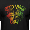 Cheech & Chong Up In Smoke Good Vibes Only Official Rasta T-Shirt