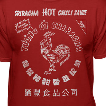 Sriracha Official Hot Chili Sauce Men's Graphic T-shirt