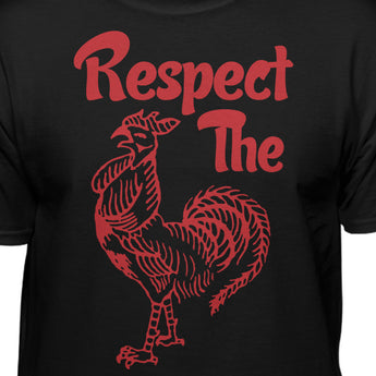 Respect The Sriracha Hot Sauce Official T-shirt