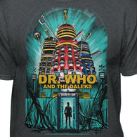 Doctor Who and The Daleks Official Movie Poster T-shirt