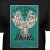 Doctor Who and The Daleks UK Movie Poster T-Shirt