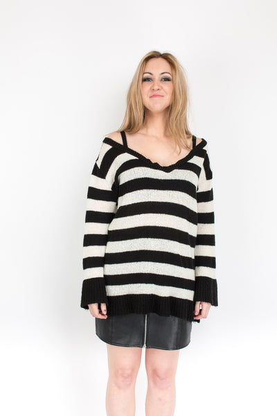 This Modern Love Stripe Knit - S/M/L