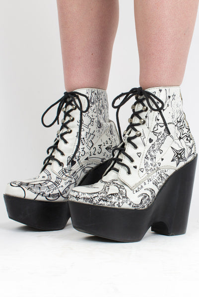 Jeffrey Campbell Warpaint Boots UK8/US10