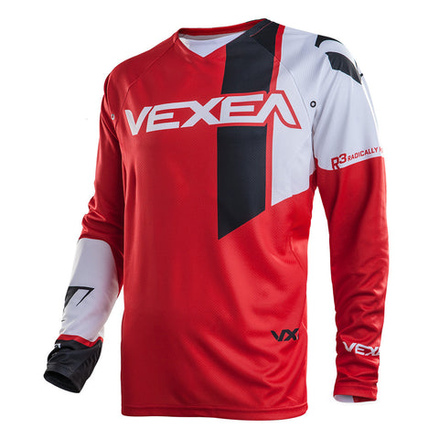 VX-1 Jersey Red/White