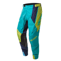 VX-1 Pant Teal/Flo Green