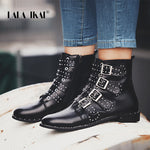 Rivet Ankle Boots