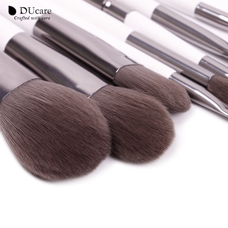 8pcs Travel Makeup Brushes Set with Box