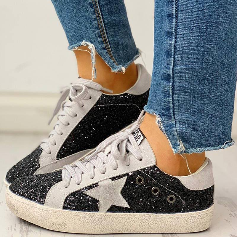 Sequins Star Sneakers
