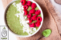matcha chia breakfast bowl green tea health food