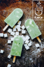 MATCHA YOGURT  POPS Green tea Health Food