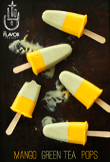 Cool Down with this Easy Matcha Recipe: MANGO GREEN TEA POPS