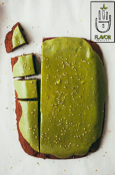 Brownies with Matcha Glaze a healthy Twist to Sweets