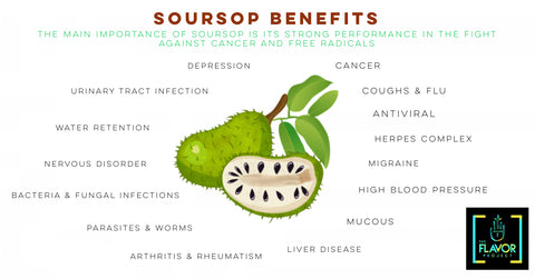 Soursop Benefits List