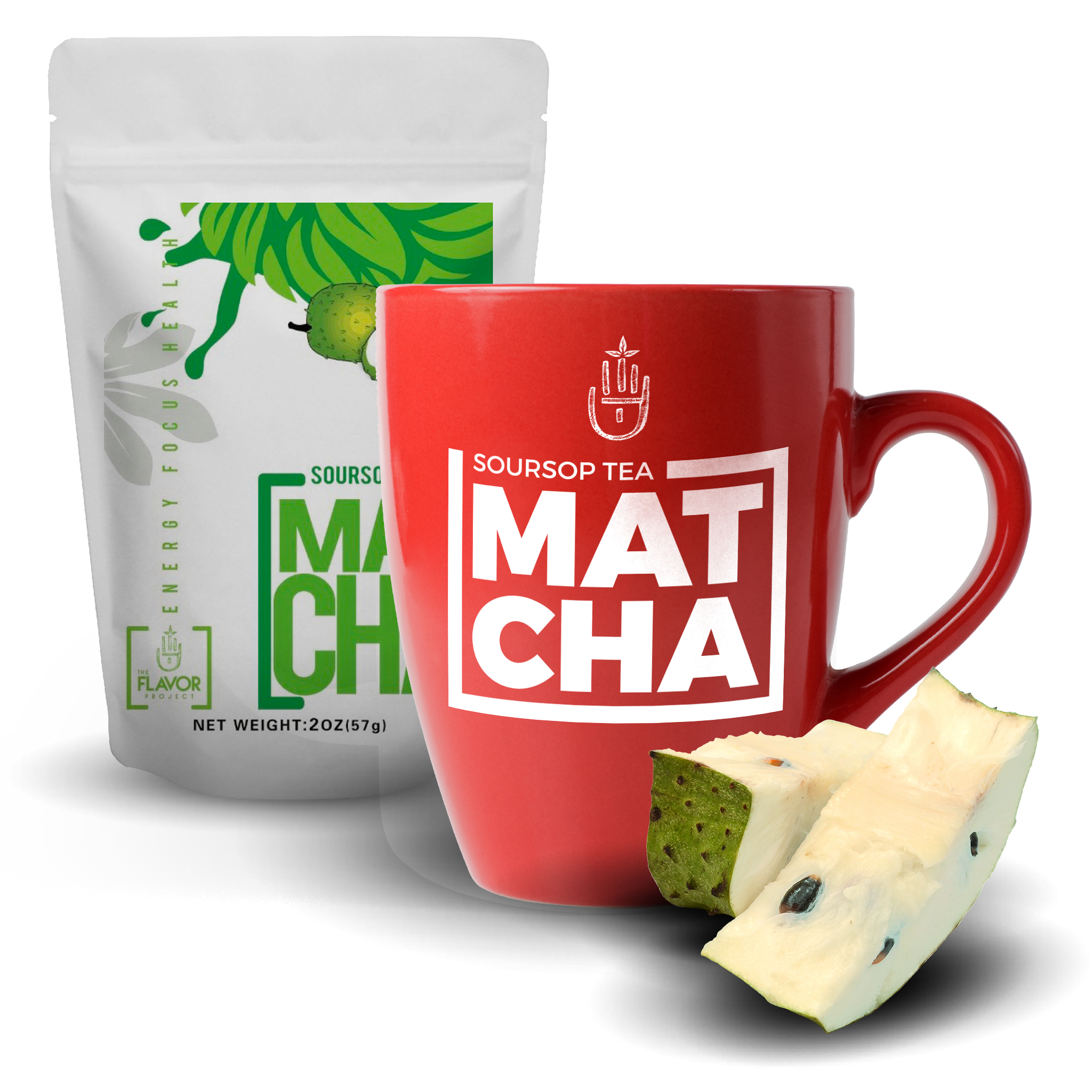 Soursop Matcha Tea