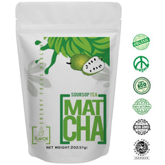 soursop matcha green tea