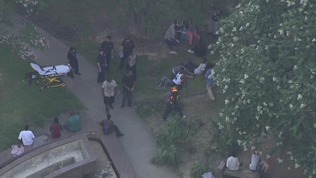 OVERDOSE ON SYNTHETIC MARIJUANA: MORE THAN 12 PEOPLE TAKEN TO HOSPITAL IN HERMAN PARK!