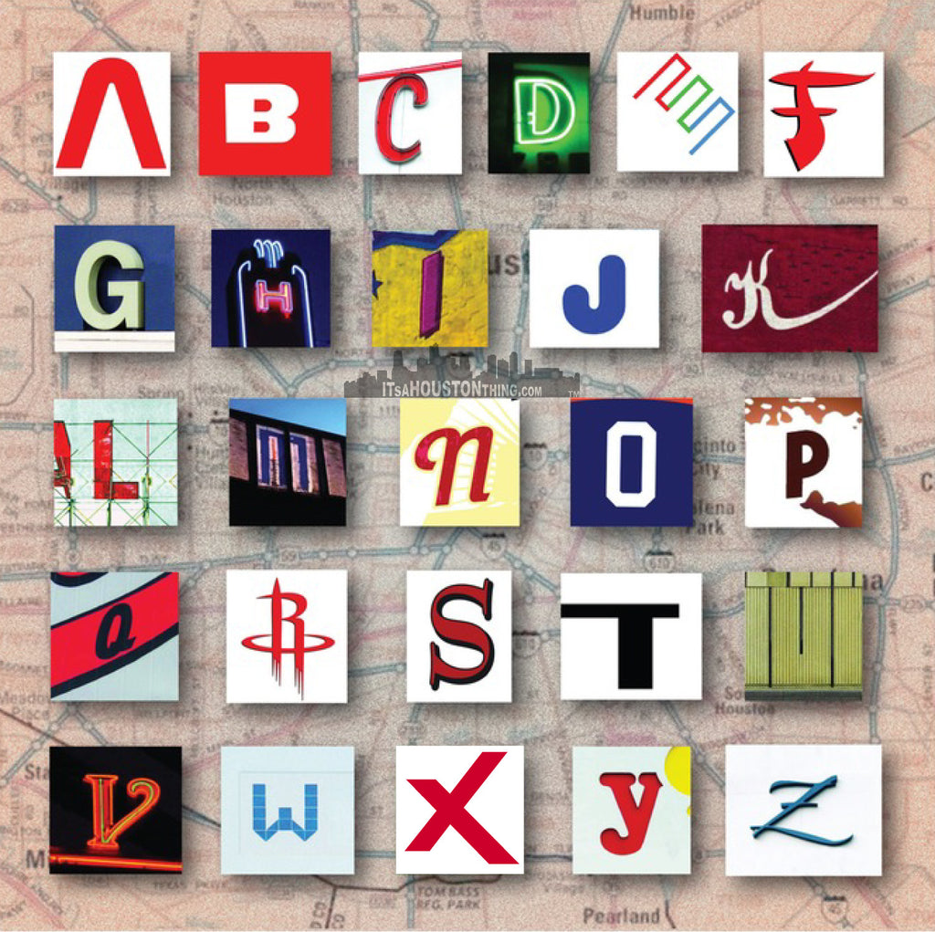 Houston Alphabet With ANSWERS!