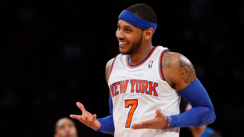 Carmelo Anthony Hopes To Be A Rocket By Monday