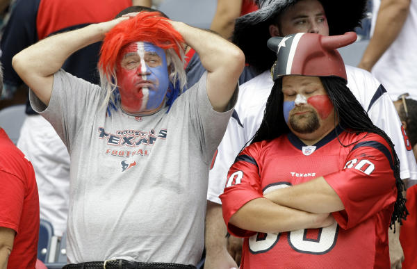 The Texans didn't meet expectations after Week 1 loss