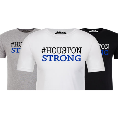 "#HoustonStrong Shirt! 100% of Profits will go to ""Houston Flood Relief Fund"""
