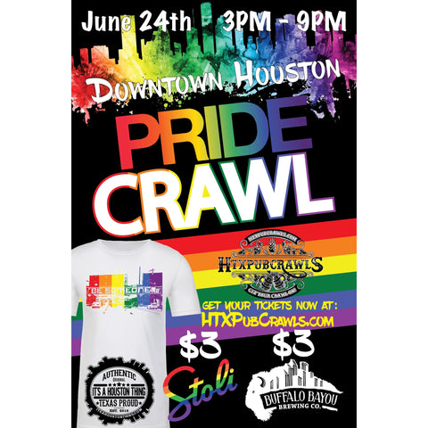 June 24th Downtown Pride Pub Crawl