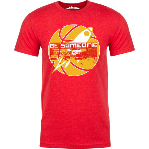 "Houston's Throwback Basketball ""Be Someone"" Edition."