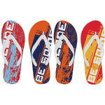 "Men's Throwback ""Be Someone"" Sports Flip Flops"