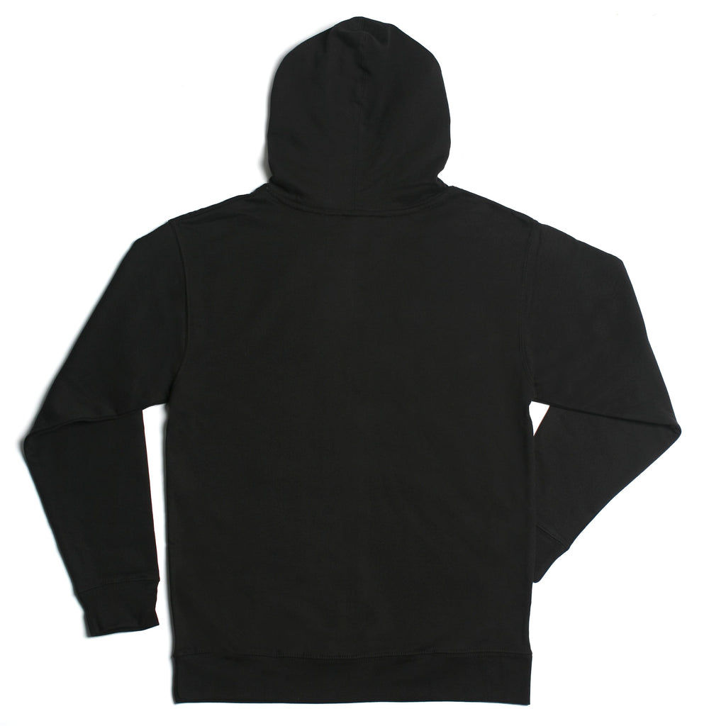 REFLECTIVE White Hoodie Black