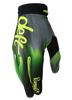 deft family motocross mtb bmx glove catalyst blast green front