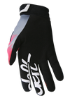 deft family motocross mtb bmx glove catalyst blast red back