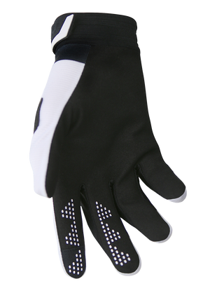 deft family motocross mtb bmx glove catalyst divide black back