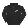 deft family youth bolt zip hoodie charcoal gray front