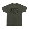 LIFESTYLE TEE. SURPLUS GREEN