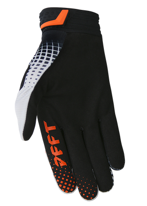 deft family motocross mtb bmx glove catalyst checker black back