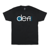 deft family motocross mtb bmx t-shirt coastal black front