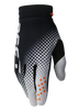 deft family motocross mtb bmx glove catalyst checker black front