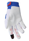 deft family motocross mtb bmx glove catalyst divide white back