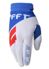 deft family motocross mtb bmx glove catalyst divide white front