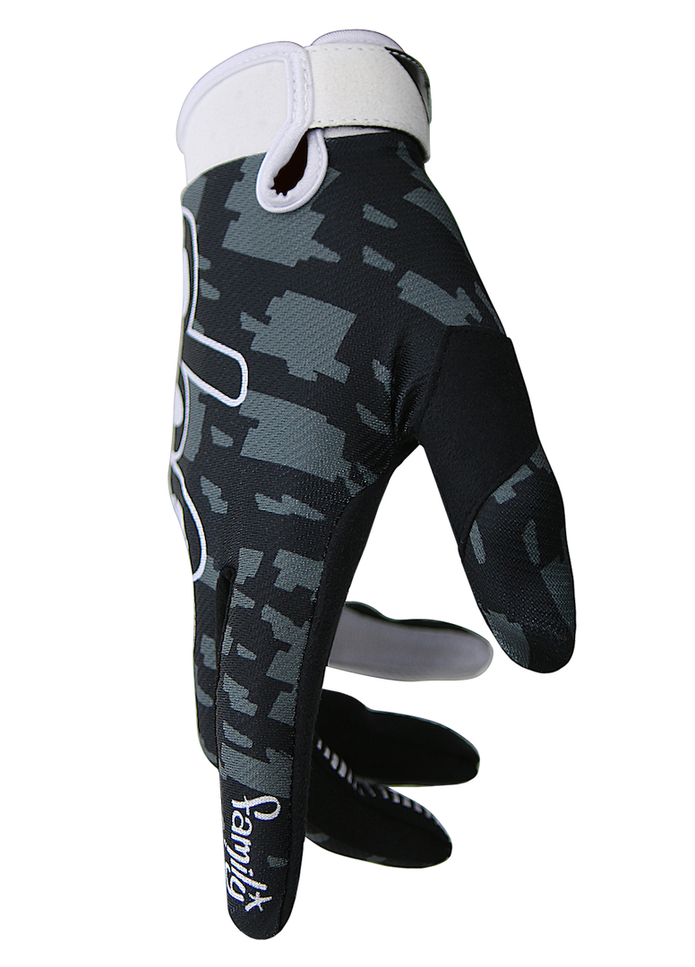 deft family motocross mtb bmx glove eqvlnt camo black side
