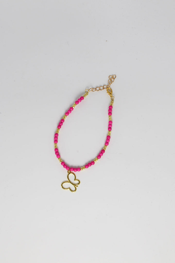 Penelope Butterfly Anklet