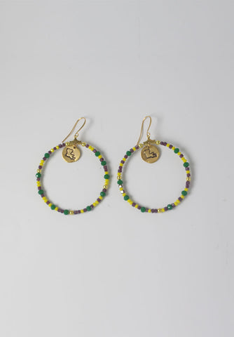 Doubloon Earrings