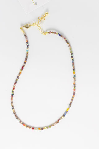 Claire Multi-Color Beaded Necklace