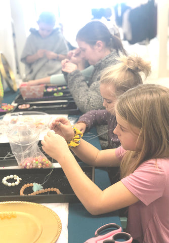 'Back to School' Jewelry Making Class for Littles: Tuesday, July 30, 2019 at 11 AM
