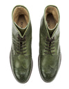 Union Brogue Boot - Green