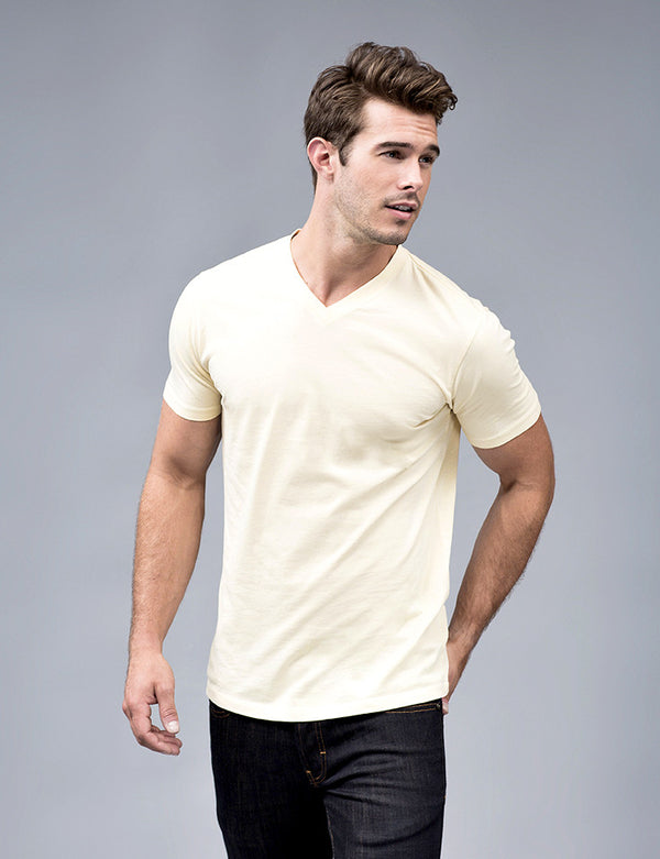 Yellow Elm V-neck t Shirt
