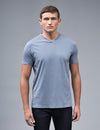 Shale Blue V-neck t shirt