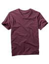 Plum V-neck t Shirt