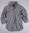 Blue & Grey Check Shirt